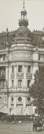 Le grand magasin Au Printemps en 1889