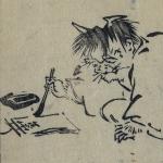 Hokusai, Leçons de dessin par la décomposition géométrique