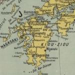 Carte du Japon, 1903-1904