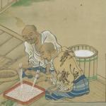 Shuhanron emaki, manuscrit japonais à peintures