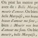 Molière, Le Bourgeois gentilhomme, édition de 1773