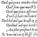 Oeuvres poétiques de Clovis Hesteau, 1578