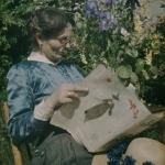 Louis Rebillon, Portrait de Mme Rebillon, 1907-1916