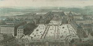 Vue et perspective du château de Versailles, 1716