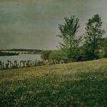 Ropolo, Prairie au bord d'une rivière, 1920