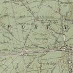 Carte d'Excursions aux Environs de Nancy, 1895