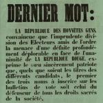 """Dernier mot"""