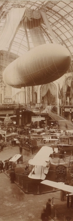 Salon de l'aéronautique au Grand Palais, 1910