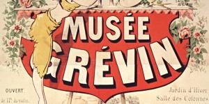 Musée Grévin, affiche, 1890