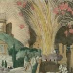 Feu d'artifice donné à Paris au Mariage de Napoléon