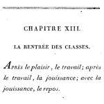 Les Fêtes des enfans, 1822