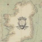 Carte des côtes d'Irlande, 1772