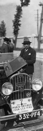 Rallye Paris-Juan-les-Pins, 1932