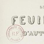 Hugo, Les Feuilles d'automne, 1832