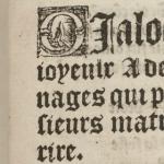 Dialogue fort joyeulx à deux personnages, 1510