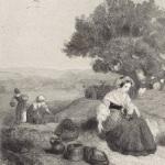Célestin Nanteuil, Les vendanges, 1842