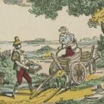 Les vendanges, Pellerin, 1852