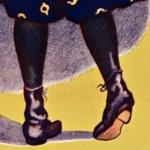 Affiche pour le chocolat Menier, 1925