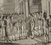 Bonaparte reçu par les autorités constituées. Voyage du premier consul en l'an XI<br>============================