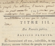 Annotations au Titre III, article III<br>============================